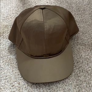 H & M Silky Army Green Hat